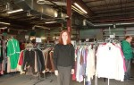 Erika Flint stands inside the Watertown Urban Mission's thrift shop.